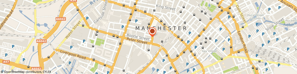 Route/map/directions to Central Manchester Osteopathy & Sports Therapy, M2 5NS Manchester, 6 Mount St