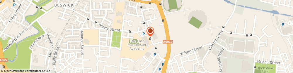 Route/map/directions to Beswick Library, M11 3DS Manchester, 60 Grey Mare Lane