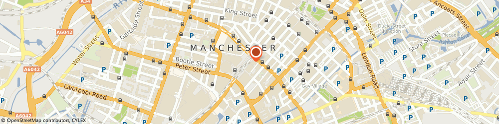 Route/map/directions to Accountancy Additions, M2 3LQ Manchester, CLARENDON HOUSE, 81 MOSLEY STREET