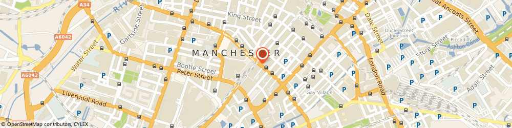 Route/map/directions to Sonali Bank (Uk) Ltd, M2 3LQ Manchester, 77 MOSLEY STREET