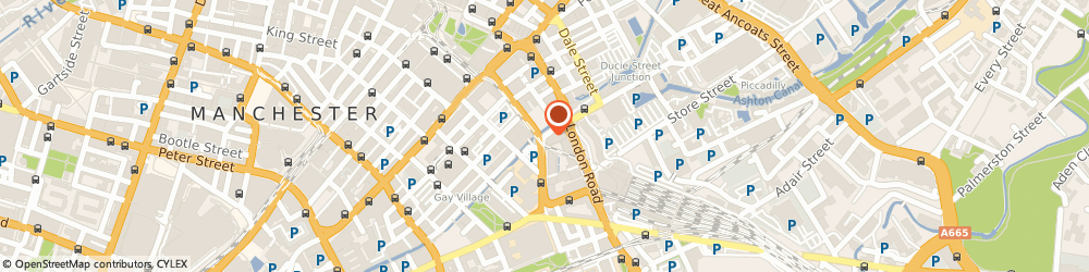 Route/map/directions to Bex Bowman Headshot Photography, M1 Manchester, Auburn St