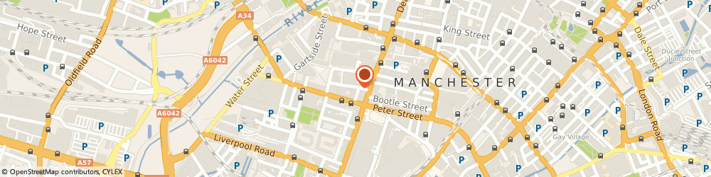 Route/map/directions to La Piazza, M3 3JU Manchester, 1A, Little Quay St