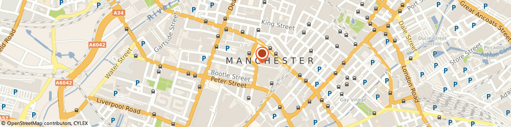Route/map/directions to Northern Rock Commercial Finance, M2 4DF Manchester, 1ST FLOOR, 1-7, PRINCESS STREET, ALBERT SQUARE