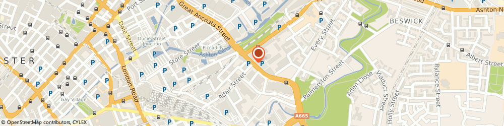 Route/map/directions to COSTA COFFEE, M4 7DB Manchester, Unit 1, 263 Great Ancoats Street