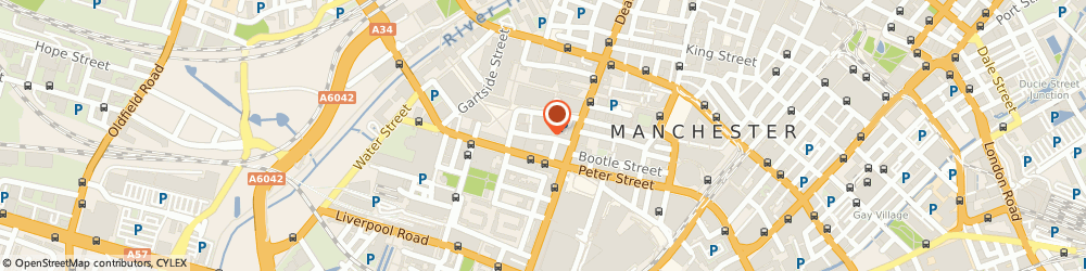 Route/map/directions to VIP Courier International, M3 3HH Manchester, INVICTA HOUSE 2-4 ATKINSON STREET