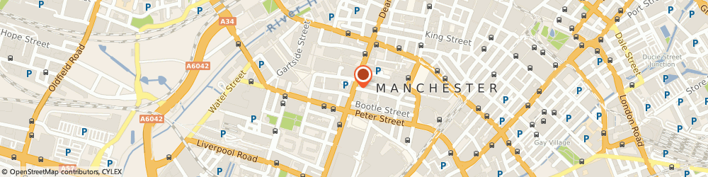 Route/map/directions to Indiespring, M3 2BW Manchester, 77 Deansgate, 2nd Floor, Lancaster Buildings
