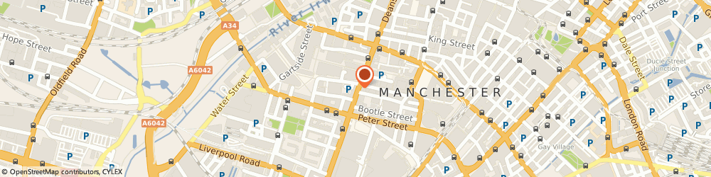 Route/map/directions to Oasis Clothing Store, M60 3AU Manchester, House Of Fraser Deansgate