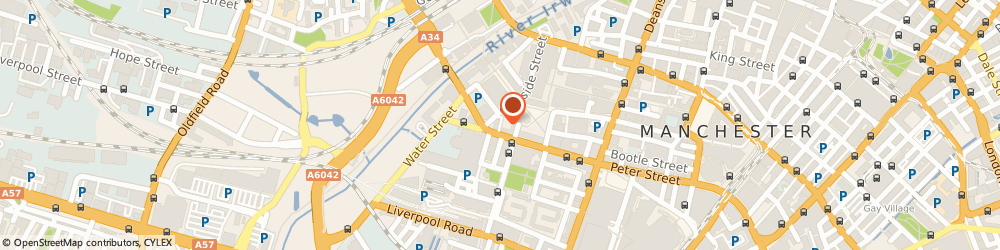 Route/map/directions to 40 King Street Chambers, M3 3FT Manchester, 36 Young Street