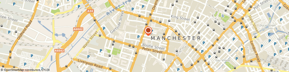 Route/map/directions to JH Damp Proofing, M2 5BE Manchester, 4 Lloyd St