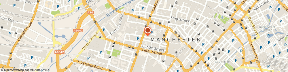 Route/map/directions to Dunbar Bank PLC, M2 5ND Manchester, CROXLEY HOUSE, 14 LLOYD STREET