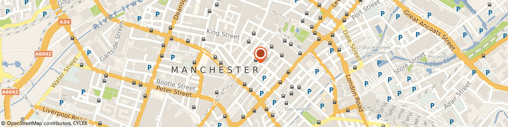 Route/map/directions to Tuckers Solicitors, M2 3HZ Manchester, 63-65 Mosley St