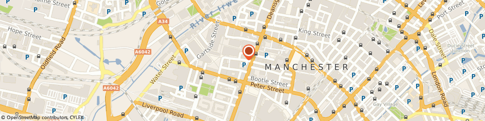 Route/map/directions to Express Glass Group Limited, M3 3AT Manchester, 6TH FLOOR 3 HARDMAN STREET, SPRINGFIELDS