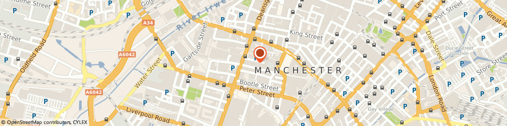 Route/map/directions to Downs Daley Limited, M2 5HR Manchester, PANNELL KERR FORSTER, SOVEREIGN HOUSE, QUEEN STREET