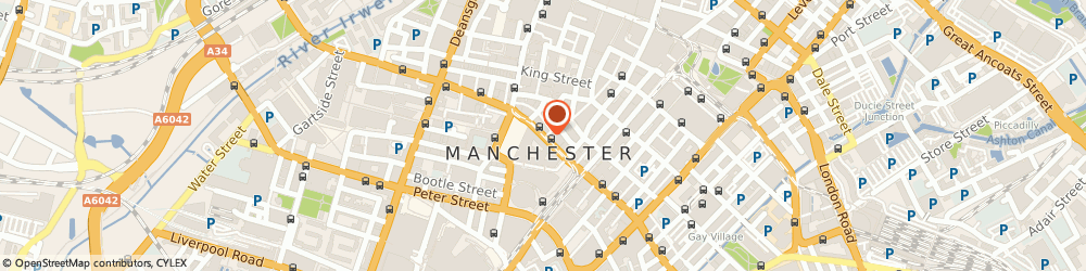 Route/map/directions to F Rostron Maunfacturing Ltd, M2 4FN Manchester, 39 PRINCESS STREET