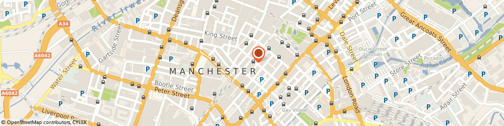 Route/map/directions to The Biz Expos Limited, M2 3HZ Manchester, 61 W Mosley St