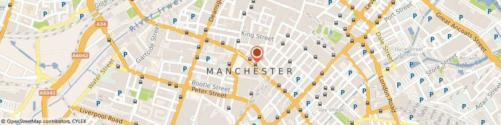 Route/map/directions to Aquarius Entertainments, M2 4FN Manchester, 37 PRINCESS STREET
