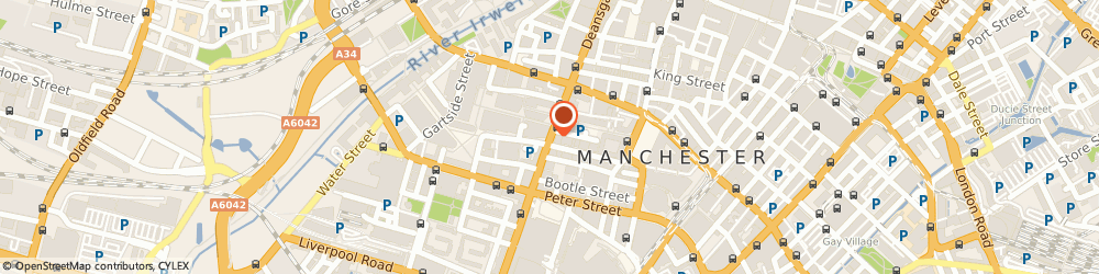 Route/map/directions to Grand Piano Removals, M3 4LQ Manchester, Deansgate