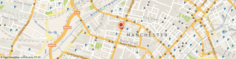 Route/map/directions to Wahu, M3 3AP Manchester, 1 Spinningfields Square