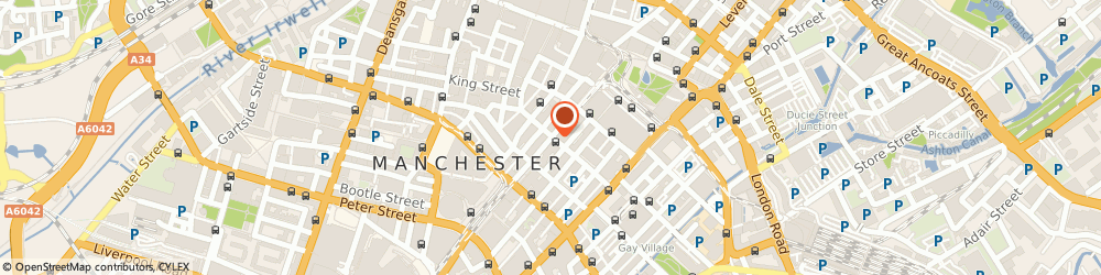 Route/map/directions to Reed Accountancy Personnel, M2 3LR Manchester, 87-89 MOSLEY STREET