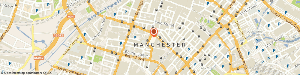 Route/map/directions to Citypress Pr, M2 6LW Manchester, 2-10 Albert Square