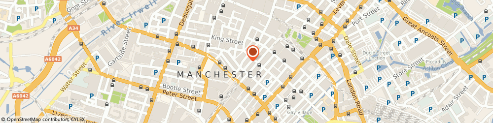 Route/map/directions to HEAVYWEIGHT SPORTS MARKETING LIMITED, M2 2EE Manchester, SUITE 5B BROOK HOUSE, 77 FOUNTAIN STREET