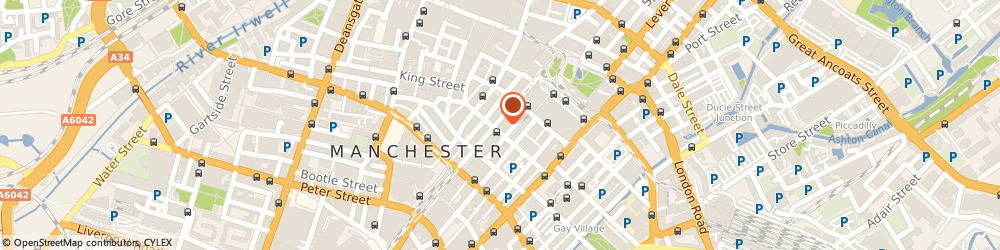 Route/map/directions to The Portico Library & Gallery, M2 3HY Manchester, 57 Mosley Street