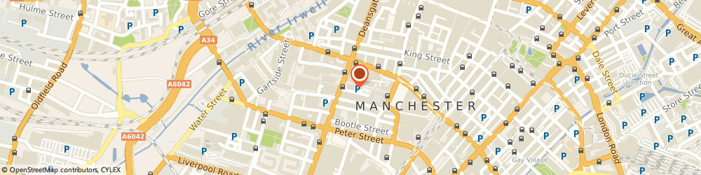 Route/map/directions to Whitehall Media, M3 3WR Manchester, Centurion House, 129 Deansgate