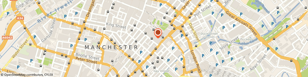 Route/map/directions to Paddy Power, M1 4BD Manchester, Unit F2, 44 City Tower, Piccadilly Plaza
