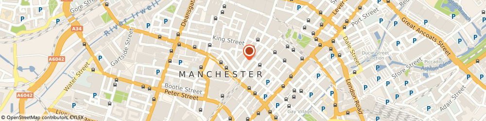 Route/map/directions to BUPA Healthcare Professional, M2 2EE Manchester, THIRD FLOOR/FOUNTAIN HOUSE, 83 FOUNTAIN STREET