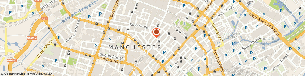 Route/map/directions to F P Design & Advertising Ltd, M2 2BQ Manchester, THOMPSON MORLEY JACKSON & CO BROOK HOUSE 64-72 SPRING GARDENS