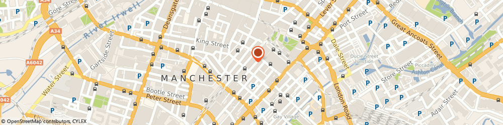 Route/map/directions to Barclays Bank Manchester, M2 3HQ Manchester, 51 Mosley Street