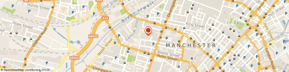 Route/map/directions to NEW VISION CARE SERVICES, M3 3HF Manchester, 3 Hardman Street