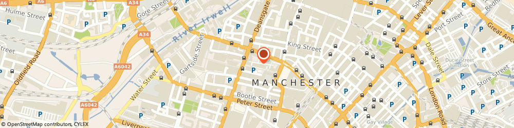 Route/map/directions to The Manchester Cutter, M2 5EA Manchester, 42A BRAZENNOSE STREET