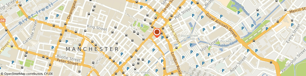 Route/map/directions to Park Avenue Ltd, M1 3BE Manchester, 2Nd Floor, 9, Portland Street