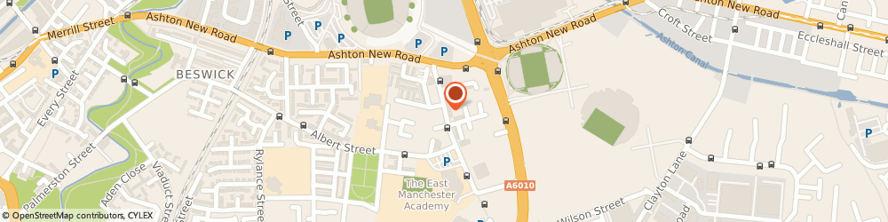 Route/map/directions to Avebury Taverns Ltd, M11 3DS Manchester, 80 GREY MARE LANE