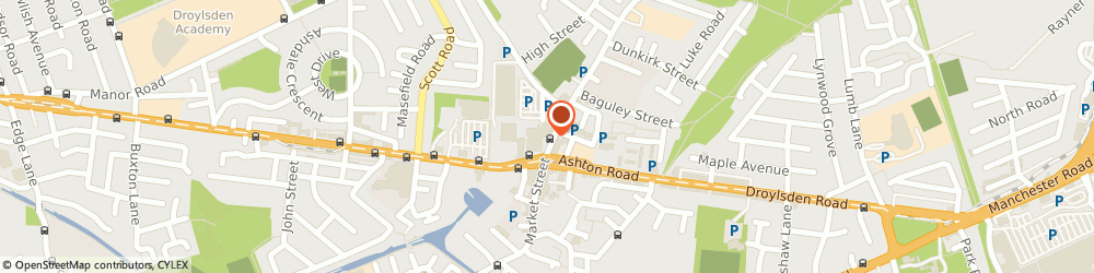 Route/map/directions to Kims Nails, M43 7AR Manchester, 129 Market Street