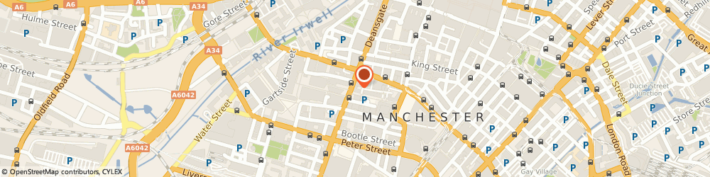Route/map/directions to Suretax, M3 2LH Manchester, 125 Deansgate