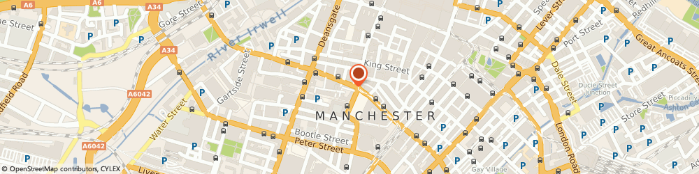 Route/map/directions to Malmin Manchester, M2 6LE Manchester, 44A John Dalton Street