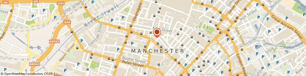 Route/map/directions to Jon Parker Lee Photography, M24DF Manchester, 1-7, Princess St