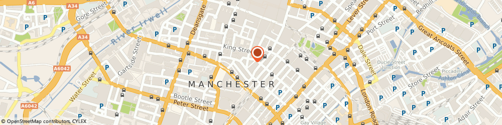 Route/map/directions to Switch Concepts Ltd, M2 1EW Manchester, The Chancery 58, Spring Gardens
