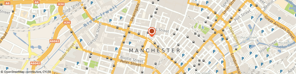 Route/map/directions to Freedom Back Clinics, M2 4JW Manchester, 59 CROSS STREET