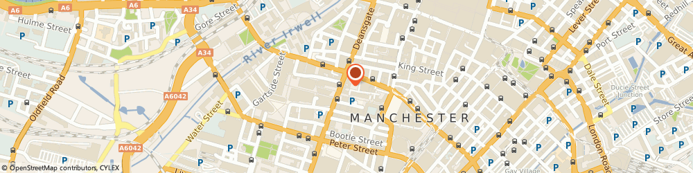 Route/map/directions to Ladbrokes Gaming - Deansgate, M3 2BY Manchester, Unit 2 123 Deansgate
