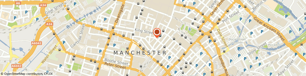 Route/map/directions to Wilmslow Financial Services Plc, M2 1EW Manchester, THE CHANCERY, 58 SPRING GARDENS