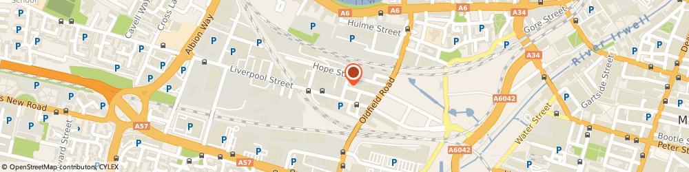 Route/map/directions to Andrews Continental Delicacies, M5 4NF Salford, 1-3 MUSLIN STREET