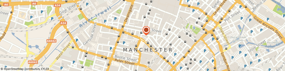 Route/map/directions to Subway, M2 4JW Manchester, 55 Cross Street