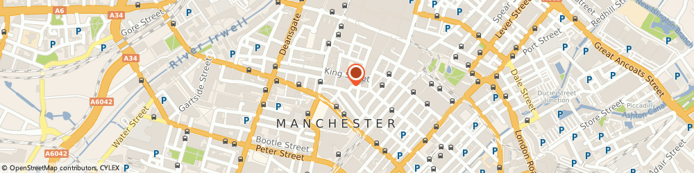 Route/map/directions to Planex Design and Project Management Limited, M2 4DU Manchester, Greks Building, 1 Booth Street