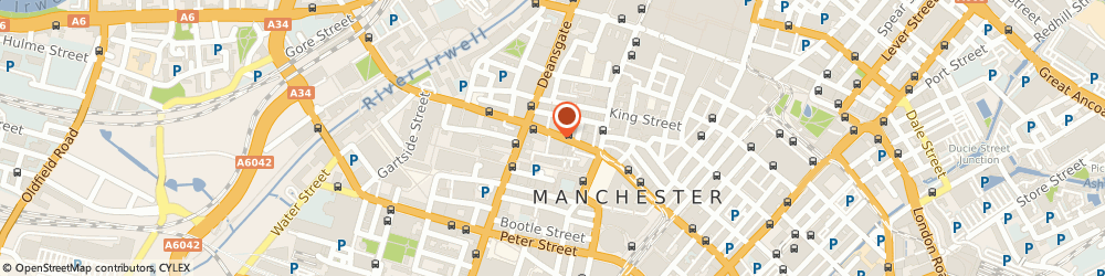 Route/map/directions to Bank Restaurant, M2 6JR Manchester, Ridgefield House, 4Th Floor