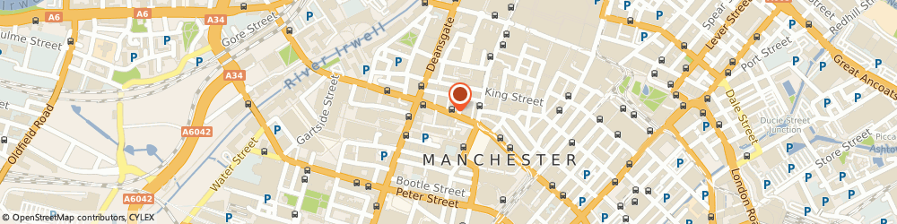 Route/map/directions to Fired Earth Manchester, M2 6HY Manchester, 16 John Dalton Street