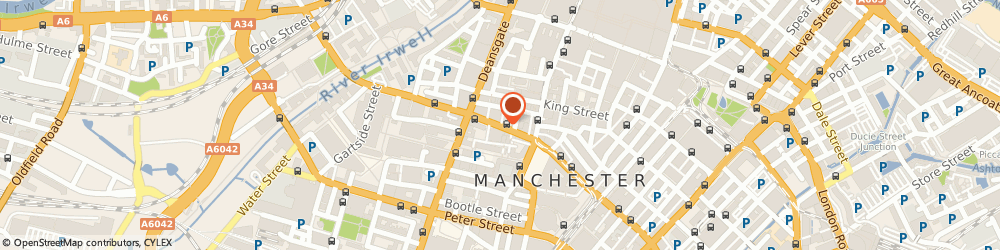 Route/map/directions to Francis Conor Manchester Osteopaths, M2 6NY Manchester, JOHN DALTON STREET