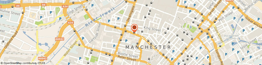 Route/map/directions to Old Co. Ltd, M2 6JP Manchester, 8-10 JOHN DALTON STREET